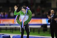 SCHAATSEN: HEERENVEEN: IJsstadion Thialf, 29-12-2012, Seizoen 2012-2013, KPN NK allround, Nederlands kampioen Sven Kramer, ©foto Martin de Jong