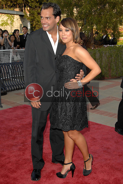 Cheryl Burke and Christian de la Fuente<br />
