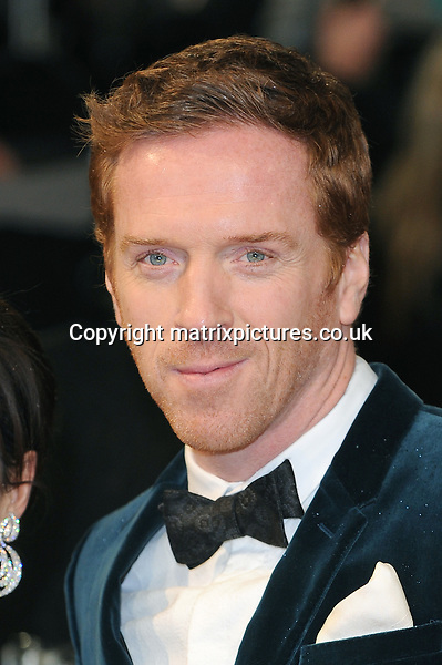 NON EXCLUSIVE PICTURE: PAUL TREADWAY / MATRIXPICTURES.CO.UK.PLEASE CREDIT ALL USES..WORLD RIGHTS..English actor Damian Lewis attending the 2013 EE British Academy Film Awards, at London's Royal Opera House...FEBRUARY 10th 2013..REF: PTY 13945