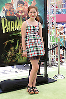 """LOS ANGELES - AUG 5:  Emma Kenney arrives at the """"ParaNorman"""" Premiere at Universal CityWalk on August 5, 2012 in Universal City, CA ©mpi27/MediaPunch Inc"""