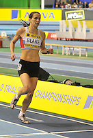 Photo: Paul Greenwood/Richard Lane Photography. Aviva World Trials & UK Championships. 14/02/2010. .Karrie Blake in the Womens 800m.