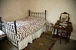 Victorian bedroom, Museum of East Anglian Life, Stowmarket, Suffolk