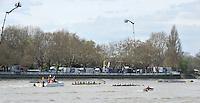 Putney, GREAT BRITAIN,   Veterans Boat Race,  Friday,   Putney Hard.  Tideway Week, Championship Course, Putney/Mortlake, Friday   06/04/2012    [Mandatory Credit, Peter Spurrier/Intersport-images],