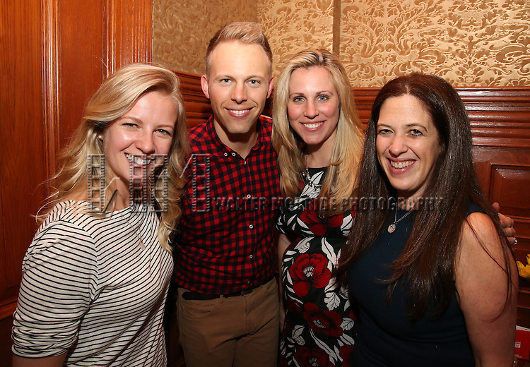 during the Dramatists Guild Fund intimate salon with Benj Pasek and Justin Paul at the home of Kara Unterberg on March 7, 2016 in New York City.