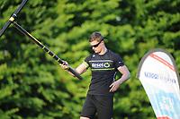 FIERLJEPPEN: WINSUM: 27-05-2017, winnaar Nard Brandsma met 20.90m, ©foto Martin de Jong