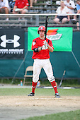 Jordan Swagerty during the Cape Cod High School Classic presented by Under Armour at Spillane Field on July 27th 2007 in Wareham, Massachusetts.  (Copyright Mike Janes Photography)