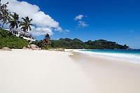 Seychelles, Island Mahe, Anse Intendance: Banyan Tree Hotel<br />