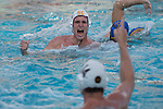 LOS ANGELES, CA - DECEMBER 03:  Matt Maier (10) of the University of Southern California celebrates during the Division I Men's Water Polo Championship held at the Uytengsu Aquatics Center on the University of Southern California campus on December 3, 2017 in Los Angeles, California. UCLA defeated USC 5-7 to win the National Championship. (Photo by Justin Tafoya/NCAA Photos via Getty Images)