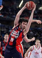 Caja Laboral Baskonia's Fernando San Emeterio during Spanish Basketball King's Cup match.February 07,2013. (ALTERPHOTOS/Acero)