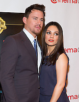 LAS VEGAS, NV - March 27: Channing Tatum and Mila Kunis pictured arriving at Warner Broters Presentation at Cinemacon 2014 at Caesars Palace in Las Vegas, NV on March 27, 2014.© Kabik/ Starlitepics