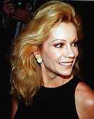 Kathie Lee Gifford tours the controversial new exhibit on sweatshops at the Smithsonian Museum of American History in Washington, D.C. on April 21, 1998..Credit: Ron Sachs / CNP