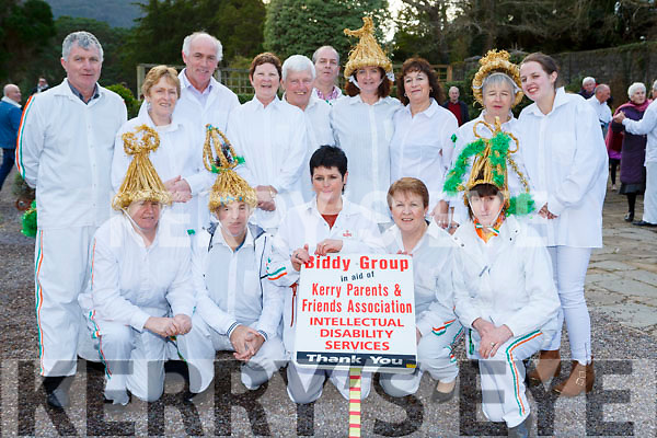 The Kerry Parents and Friends Biddy group at the Muckross House and gardens St Brigids day celebrations on Sunday front row l-r: Kathleen and Ger Fitzgerald, Joan Healy, Mary Kissane, Nuala Doherty, Back row: Noel Lucey, Kate Fleming, Tim Kissane, Sheila Enright, Pat Moriarty, Theresa Horan, Eileen Scully, Sheila Healy and Joanne Healy