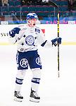 Stockholm 2015-09-30 Ishockey Hockeyallsvenskan AIK - Leksands IF :  <br /> Leksands Matias Lassen firar sin reducering 2-5 m&aring;l under matchen mellan AIK och Leksands IF <br /> (Foto: Kenta J&ouml;nsson) Nyckelord:  AIK Gnaget Hockeyallsvenskan Allsvenskan Hovet Johanneshov Isstadion Leksand LIF jubel gl&auml;dje lycka glad happy portr&auml;tt portrait