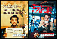Advertising campaign for Radio Italia Network © Claudio Vitale