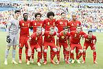 Belgium team group line-up (BEL), JUNE 22, 2014 - Football / Soccer : FIFA World Cup Brazil 2014 Group H match between Belgium 1-0 Russia at the Maracana stadium in Rio de Janeiro, Brazil. (Photo by AFLO)