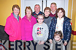 Pictured at the Beaufort Rambling House held in the Community Centre on Saturday night were Kathleen Doyle, Sheila Sheehan, Michael Doyle, Joan O'Connor, Jeremiah Sheehan, Delia Casey, Louise Kissane and Ava Casey.