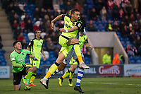 Aaron Martin of Exeter City clears the visitors lines during Colchester United vs Exeter City, Sky Bet EFL League 2 Football at the JobServe Community Stadium on 24th November 2018