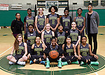12-19-16, Huron High School girl's junior varsity basketball team