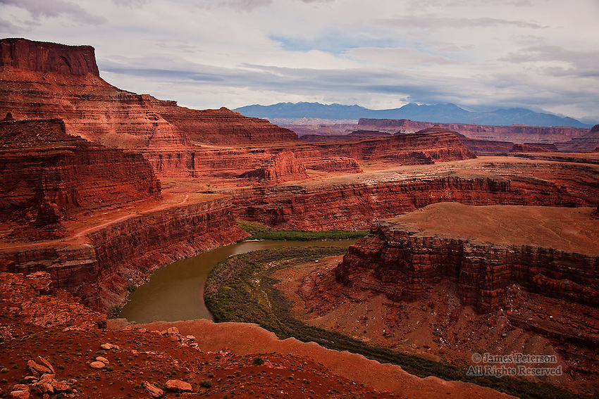 Colorado River from The White Rim, Utah