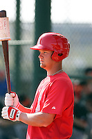 Jeremy Gillan, Los Angeles Angels 2010 minor league spring training..Photo by:  Bill Mitchell/Four Seam Images.