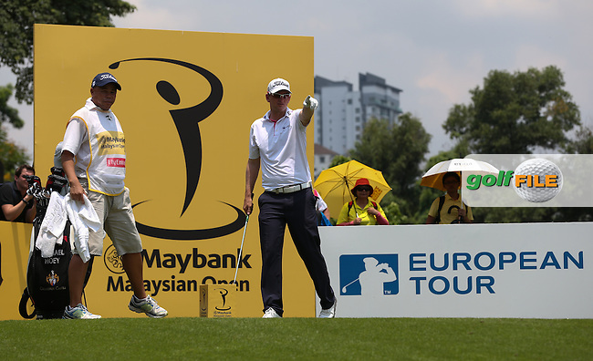 Bernd Wiesberger (AUT) ended Round Three with a 70 (-6) at the 2014 Maybank Malaysian Open at the Kuala Lumpur Golf & Country Club, Kuala Lumpur, Malaysia. Picture:  David Lloyd / www.golffile.ie