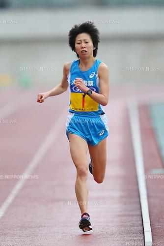 Mai Ito, <br /> FEBRUARY 14, 2016 - Marathon : <br /> All Japan Industrial Half Marathon <br /> in Yamaguchi, Japan. <br /> (Photo by YUTAKA/AFLO SPORT)