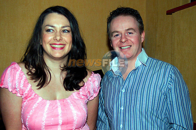 Suzanna and Stephen Campbell in Sulos...Pic Tony Campbell/Newsfile