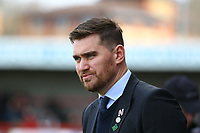 Grimsby Town manager Michael Jolley during Crawley Town vs Grimsby Town, Sky Bet EFL League 2 Football at Broadfield Stadium on 9th March 2019
