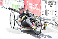 Competitor Alison Webb during the Abergavenny Festival of Cycling &quot;Para Grand Prix of Wales&quot; race on Sunday 17th 2016<br /> <br /> <br /> Jeff Thomas Photography -  www.jaypics.photoshelter.com - <br /> e-mail swansea1001@hotmail.co.uk -<br /> Mob: 07837 386244 -