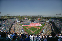 Los Angeles, CA: Dodgers opening Day 2008