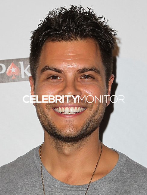 HOLLYWOOD, LOS ANGELES, CA, USA - SEPTEMBER 18: Erik Valdez arrives at the 'Get Lucky For Lupus' 6th Annual Poker Tournament held at Avalon on September 18, 2014 in Hollywood, Los Angeles, California, United States. (Photo by Celebrity Monitor)