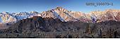 Tom Mackie, LANDSCAPES, panoramic, photos, Mt. Whitney & Alabama Hills, Eastern Sierras, Lone Pine, California, USA, GBTM090079-1,#L#