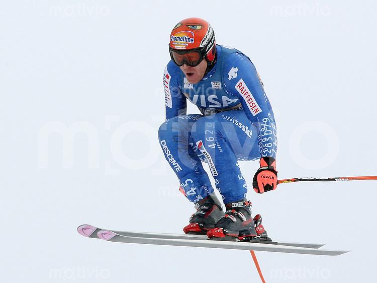 Ski Alpin; Saison 2006/2007   Training Herren Didier Cuche (SUI)