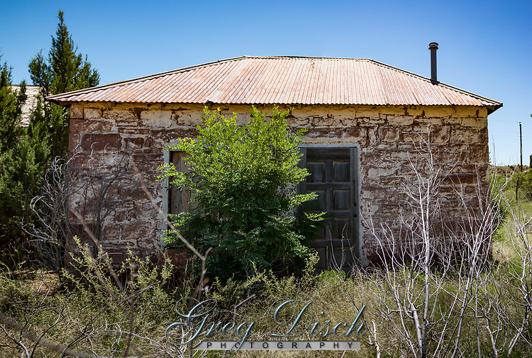 The Ghost Town of Cuervo New Mexico on Route 66.