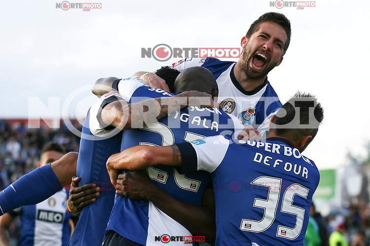 Porto's Colombian forward Jackon Martinez celebrates the goal of the match during the Zon Sagres League match between Paços Ferreira and FC Porto, at Mata Real Stadium in Paços de Ferreira on May 19, 2013 (Photo Credits: Paulo Oliveira/DPI) NortePhoto.com