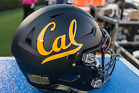 PASADENA, CA - October 22, 2015: The Cal Bears Football team vs the UCLA Bruins at the Rose Bowl in Pasadena, CA.  Final score, Cal Bears 24, UCLA Bruins 40.