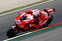 July 2, 2010 - Catalunya, Spain - Australian rider Casey Stoner powers his Ducati during the Catalunya Grand Prix, Spain, on July 2, 2010. (photo Andrew Northcott/Nippon News)