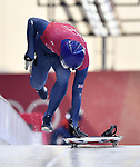 Dom Parsons (GBR). Skeleton training. Alpensia sliding centrePyeongchang2018 winter Olympics. Alpensia. Republic of Korea. 13/02/2018. ~ MANDATORY CREDIT Garry Bowden/SIPPA - NO UNAUTHORISED USE - +44 7837 394578