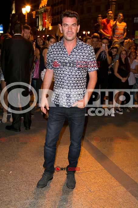 Arturo Valls attends the party of Nike and Roberto Tisci at the Casino in Madrid, Spain. September 15, 2014. (ALTERPHOTOS/Carlos Dafonte) /NortePhoto.com
