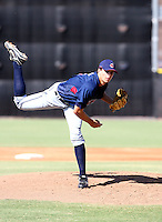 Trey Haley / Cleveland Indians 2008 Instructional League..Photo by:  Bill Mitchell/Four Seam Images
