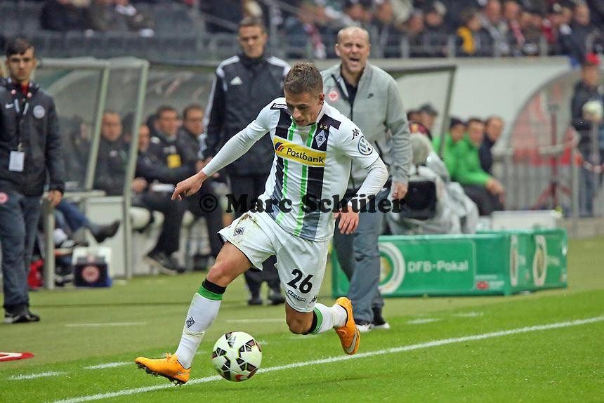 Thorgan Hazard (Gladbach) - Eintracht Frankfurt vs. Borussia Mönchengladbach, DFB-Pokal 2. Runde, Commerzbank Arena