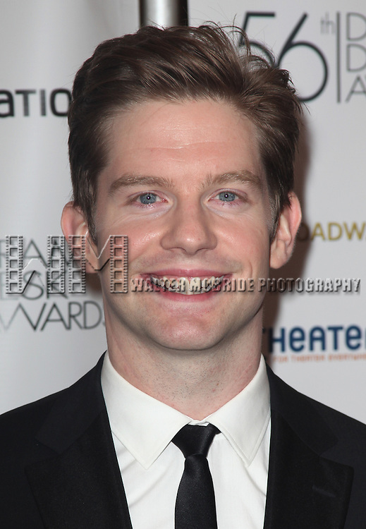Rory O'Mally.attending the 56th Annual Drama Desk Awards Arrivals at Hammerstein Ballroom in New York City.