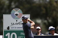 Charl Schwartzel (RSA) on the 10th tee during the 1st round of the SA Open, Randpark Golf Club, Johannesburg, Gauteng, South Africa. 6/12/18<br /> Picture: Golffile | Tyrone Winfield<br /> <br /> <br /> All photo usage must carry mandatory copyright credit (&copy; Golffile | Tyrone Winfield)