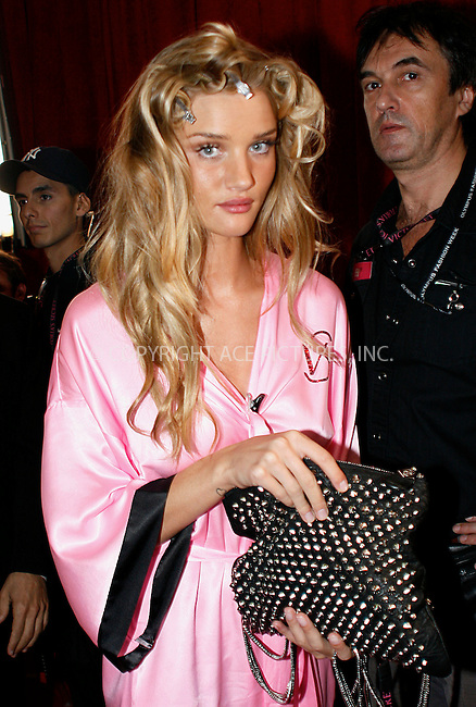 WWW.ACEPIXS.COM . . . . .  ....November 10 2010, New york City....Rosie Huntington has hair and make up done prior to the 2010  Victoria's Secret runway show at the Lexington Armoury on November 10 2010 in New York City....Please byline: NANCY RIVERA- ACEPIXS.COM.... *** ***..Ace Pictures, Inc:  ..Tel: 646 769 0430..e-mail: info@acepixs.com..web: http://www.acepixs.com