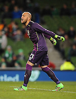 29/03/2016;International Friendly - Republic of Ireland vs Slovakia, Aviva Stadium, Dublin<br /> Ireland&rsquo;s Darren Randolph.<br /> Photo Credit: actionshots.ie/Tommy Grealy