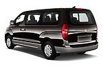 Car pictures of rear three quarter view of a 2019 Hyundai H1-People Executive 5 Door Mini Van angular rear