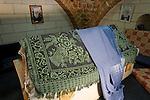 Israel, Upper Galilee. Tomb of Nabi Sadik in the Druze Village Yarka