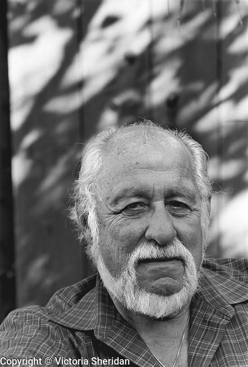 69 year old Retail Consultant Jack Brandon. Part of the Face of Labor portrait series. 1999 (Photo/Victoria Sheridan)