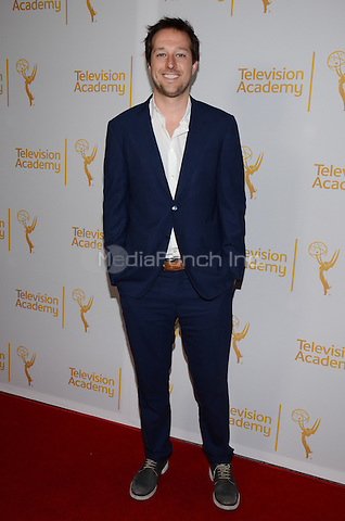 NORTH HOLLYWOOD, CA - MARCH 19: Dave Andron attending The Television Academy presents an evening with 'Justified' at the Leonard H. Goldenson Theatre on MARCH 19, 2014 in North Hollywood, California. Credit: PGTW/MediaPunch