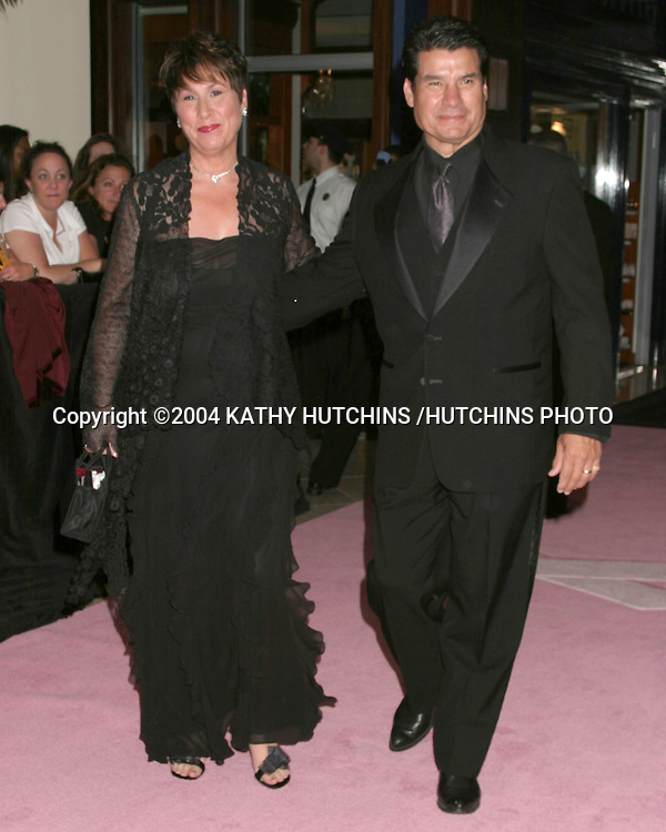 ©2004 KATHY HUTCHINS /HUTCHINS PHOTO.DAYTIME EMMYS.NEW YORK CITY, NY.MAY 21, 2004..RAYLENE AND TONY PENA